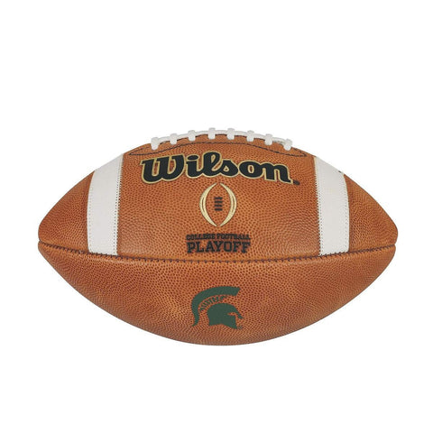 MICHIGAN STATE SPARTANS GAME MODEL AUTHENTIC GST WILSON COLLEGE FOOTBALL PLAYOFF FOOTBALL