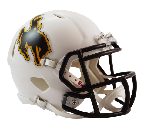 Wyoming Riddell Speed Mini Helmet