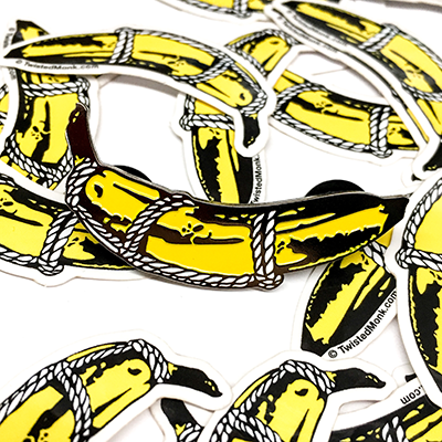 New! Bondage Banana Limited Edition Pin