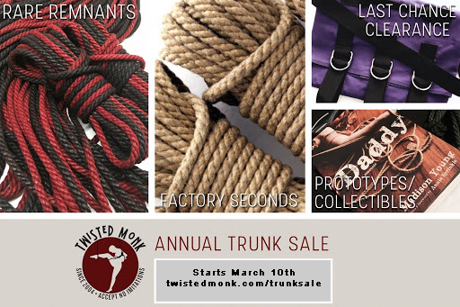 Trunk Sale 2020 Starts March 10th!