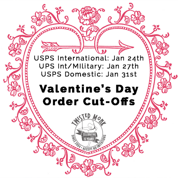 2020 Valentine's Day Ordering Cut-Off Dates
