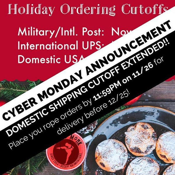 DOMESTIC ORDERING CUTOFF EXTENDED!