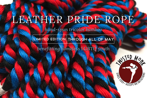 NEW: Leather Pride Bamboo Rope