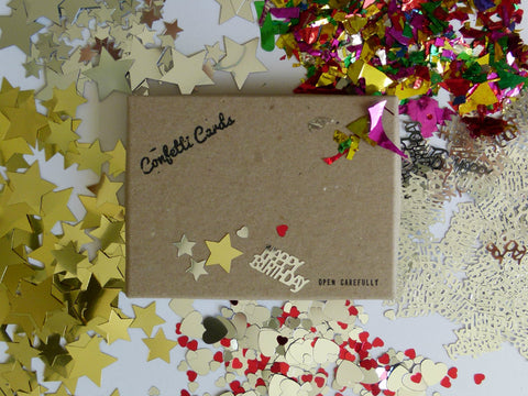 Custom Confetti Card