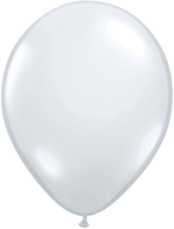 11 inch Diamond Clear Helium Balloon