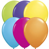 Qualatex 11 inch Tropicall Assortment Uninflated Latex Balloons