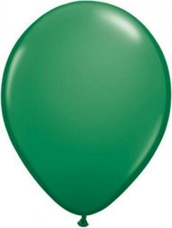 Qualatex 11 inch Uninflated Green Latex Balloon