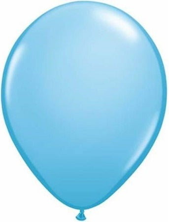 Qualatex 11 inch Pale Blue Uninflated Latex Balloon