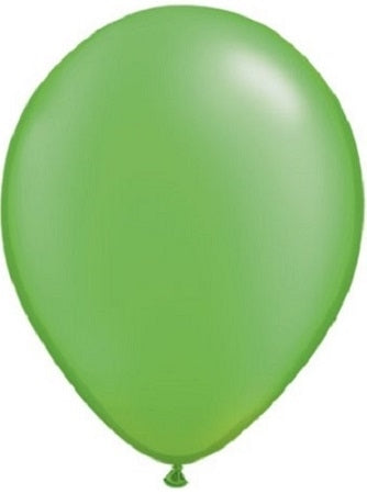 Qualatex 11 inch Pearl Lime Green Uninflated Latex Balloon