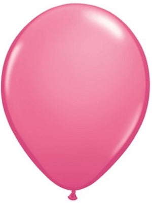 Qualatex 11 inch Rose Uninflated Latex Balloon