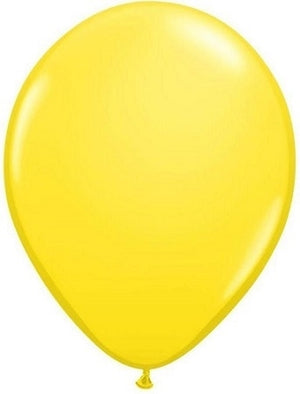 16 inch Yellow Helium Balloon