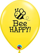 11 inch Bee Happy Helium Balloons