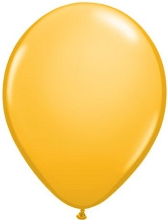 16 inch Goldenrod Balloon includes Helium and Hi Float