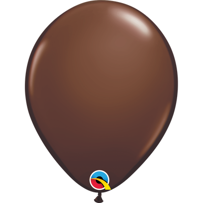 Qualatex 16 inch Chocolate Brown Uninflated Latex  Balloon