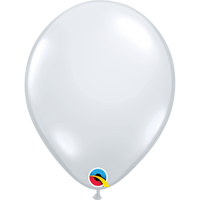 Qualatex 16 inch Diamond Clear Uninflated Latex Balloon