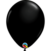 Qualatex 16 inch Onyx Black Uninflated Latex Balloon