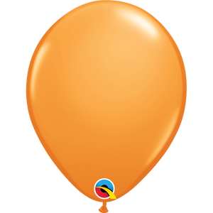 Qualatex 16 inch Orange Uninflated Latex Balloon