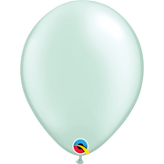 Qualatex 16 inch Pearl Mint Green Uninflated Latex Balloon