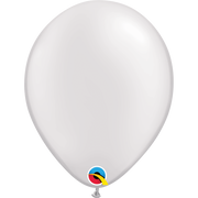 Qualatex 16 inch Pearl White Uninflated Latex Balloon
