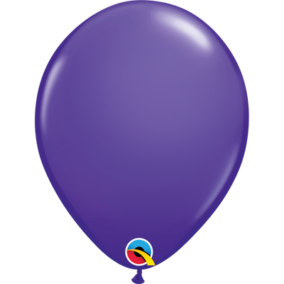 Qualatex 16 inch Purple Violet Uninflated Latex Balloon