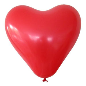 16 inch Red Heart Helium Balloon