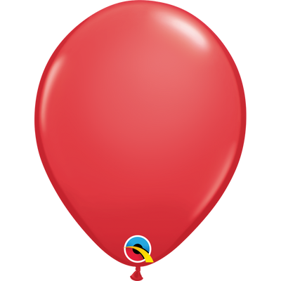 Qualatex 16 inch Red Uninflated Latex Balloon