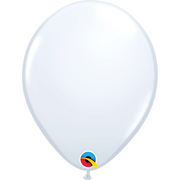 Qualatex 16 inch White Uninflated Latex Balloon