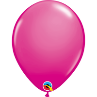 Qualatex 16 inch Wild Berry Uninflated Latex Balloon