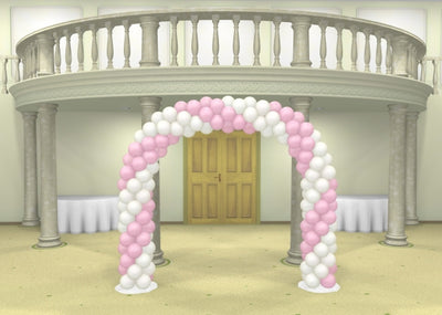 Wedding Spiral Balloon Arch