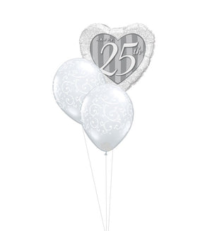 25th Anniversary Balloon Bouquet 5