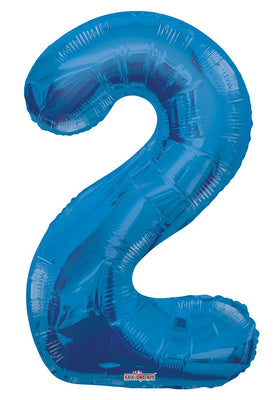 Blue Jumbo Balloon Number 2