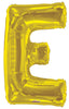Gold Jumbo Balloon Letter E (Includes Helium and Weight)