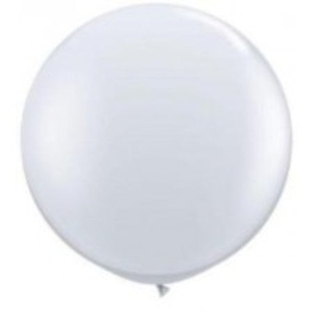 Qualatex 36 inch Round White Balloon
