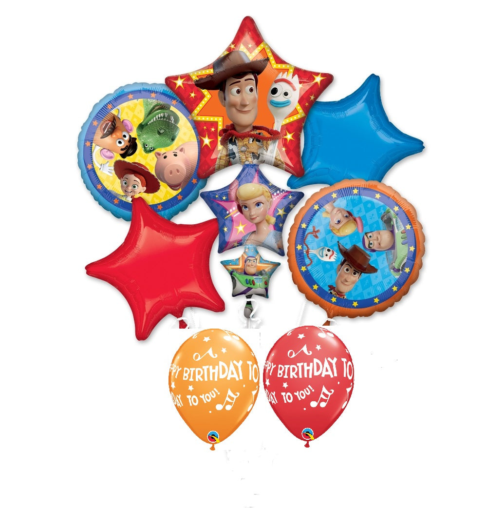 Toy Story 4 Birthday Balloon Bouquet