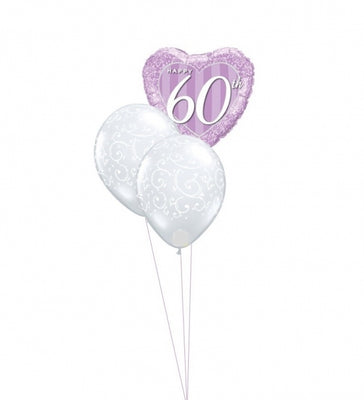 60th Anniversary Balloon Bouquet 2
