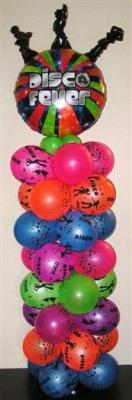 70 Disco Fever Balloon Column 1