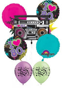80s Boombox Balloon Bouquet