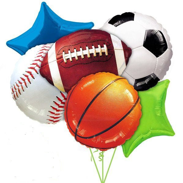 All Sports Balloon Bouquet 1