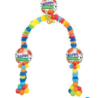 All Sports Balloon Arch 1