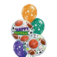 All Sports Birthday Balloon Bouquet 5