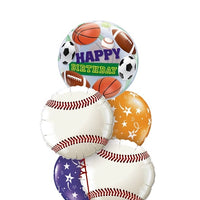 All Sports Birthday Balloon Bouquet 6