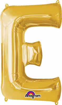 16 inch Gold Letter Balloon E