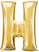 16 inch Gold Letter Balloon H