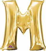 16 inch Gold Letter Balloon M