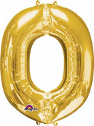 16 inch Gold Letter Balloon O