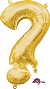 16 inch Gold Question Mark Symbol Balloon