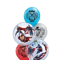 Avengers Bubbles Balloon Bouquet 1
