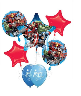 Avengers Star Birthday Balloon Bouquet 5