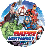 Avengers Happy Birthday 18 inch Foil Balloons