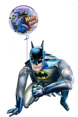 Batman Airwalker Birthday Bubble Balloons